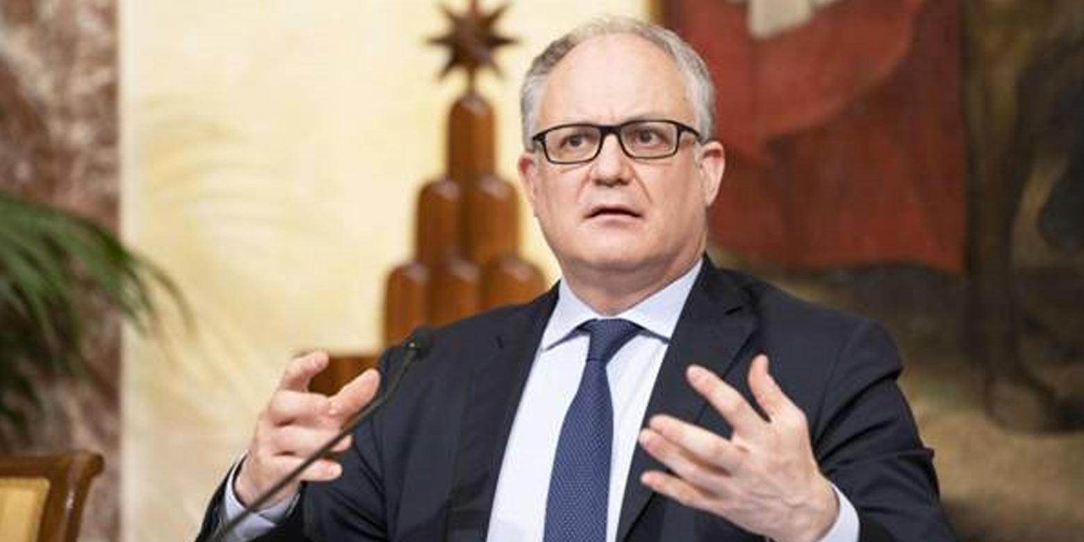 ministro economia Roberto Gualtieri