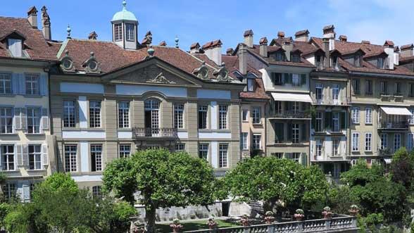 Casa Von Wattenwyl vista da sud