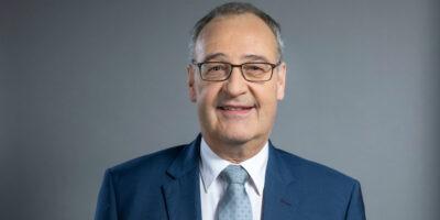 Il presidente della confederazione svizzera Guy Parmelin, foto Monika Flueckige