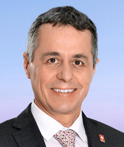 Consigliere Federale Ignazio Cassis