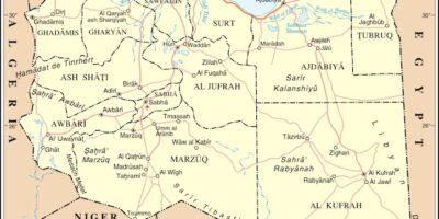 Onu mappa Libia
