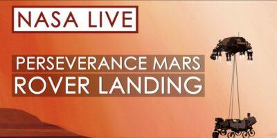 atterraggio Perseverance Marte