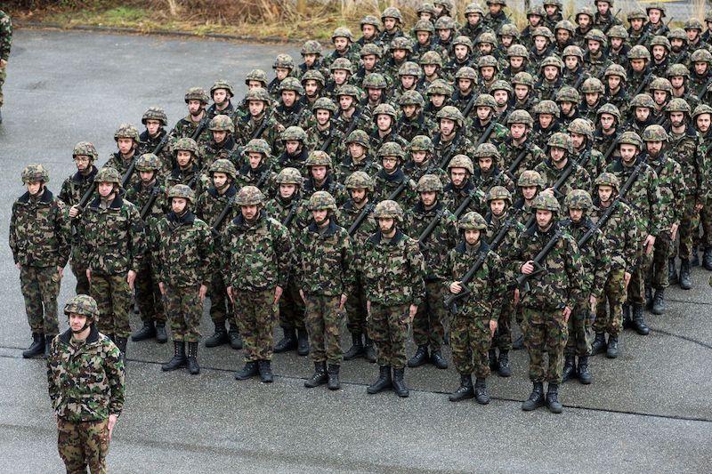 Esercito Svizzero Compagnia