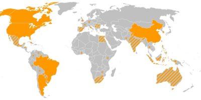 mappa ogm nel mondo