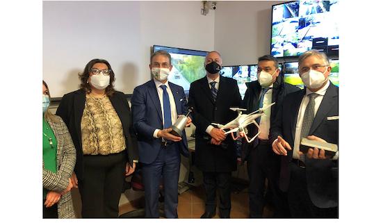 Ministro Costa telecamere Pomigliano D'Arco