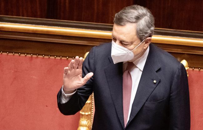 Presidente Draghi Comunicazioni Senato