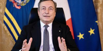 presidente Draghi videoconferenza Consiglio Europeo